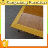 Plancher en bois de danse de nature de teck en gros (JC-W05)