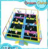 Trampoline redondo das crianças pequenas baratas do tamanho para o salto do tirante com mola