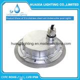 Luz nadadora Recessed subaquática da associação do diodo emissor de luz do aço inoxidável (IP68 Waterproof)
