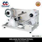 Cortador de papel cortando de máquina de etiquetas da máquina