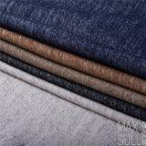 Wollen/Baumwollgewebe für Herbst-oder Winter-Mantel im Schwarzen