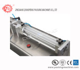 Halb-Selbstfüllmaschine-Table-Top einzelner Düsen-Pasten-Einfüllstutzen