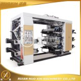 Machine 6 couleurs Stack Type d'impression flexographique