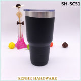 Thermos professionale della tazza di corsa di vuoto dell'acciaio inossidabile del nero del Yeti di qualità (SH-SC51)