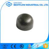 Encaixe de tubulação soldado do aço de carbono extremidade preta