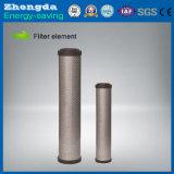 Filtro exacto eficiente del aire comprimido para industrial/el producto químico
