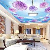 Película macia do teto do estiramento do PVC com impressão para a decoração