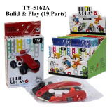 De hete Grappige Bulid& Auto van het Stuk speelgoed van het Spel DIY