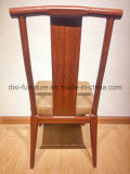 卸し売りイベントは模倣された木製のBanuqetの鉄骨フレームの椅子を飾った