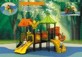Скольжение пробки малышей Dreamland пластичное, спортивная площадка сползает Ky-10105