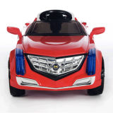Électrique Conduire-sur le rouge à télécommande Car- du jouet des enfants