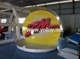 Globo desobstruído de anúncio inflável