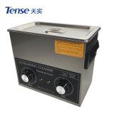 Angespannte Ultraschallreinigungsmittel-Becken mit 3 Litern des Datenträger-(TSX-120T)