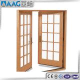 Moderner Entwurfs-Aluminiumflügelfenster-Tür mit Gitter-Entwurf