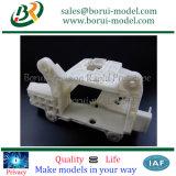 역사를 인쇄하는 3D 인쇄 기계 모형 3D