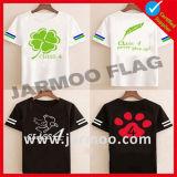 T-shirt bonito e de Fastion da mulher do algodão