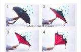 جديدة مادّة [بورتبل] طليق يد مستقيمة عكسيّة يعكس مظلة