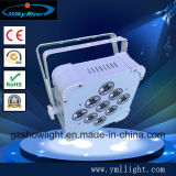 7X10W 4 In1RGBW flaches LED flaches NENNWERT 4in1 DES NENNWERT-Light/7PCS RGBW 10W LED Licht