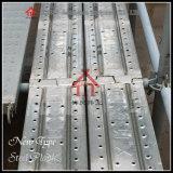 Q235 Treden met Haken/de Ladders van de Bouw van het Staal van de Weerstand van de Steunbalk
