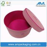 عالة ورق مقوّى كبيرة مستديرة قبعة صندوق زهرة يستطيع ورقة يعبّئ صندوق