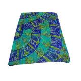 ポリエステルは軽くて柔らかいスカーフ浜の服の緑を印刷した
