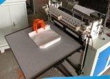 Bolso suave del bucle de la tela no tejida automática que hace la máquina