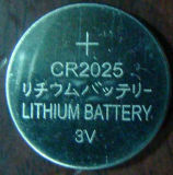 Batterie lithium Coin Cell Cr2025 3V pour jouets