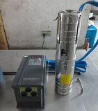 Bomba de água 4inch solar agricultural de 55m para África do Sul