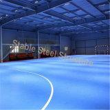 Edificios de gimnasia de estructura de acero ligero con diseño agradable
