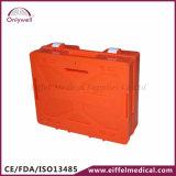 Коробка скорой помощи медицинской аварийной ситуации фабрики ABS DIN13169 большая
