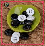 Bouton de couche de bouton de chemise de boucle de la résine 4holes de bouton de procès