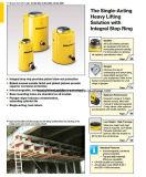 Clsg-Séries de Enerpac, cilindros elevados do Tonnage com alta qualidade