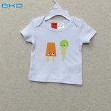 Umschlag-Stutzen Baby kleidet Bildschirm-Drucken-Baby-T-Shirt