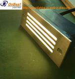 Éclairage extérieur d'opération de la lumière 2W DEL dans IP65 avec la couverture 304ssl