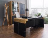 Neuer Art-Leder-Büro-Computer-Schreibtisch (V29)