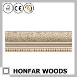Modanatura di legno decorativo del comitato di parete