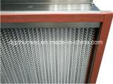 Filtro dell'aria della holding HEPA della polvere del forno di calore grande