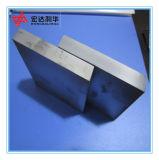 Plaque de carbure de tungstène de grande pureté de Yg 8