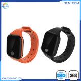 OLEDスクリーンのシリコーンのスリープモニタのスポーツの腕時計のスマートなブレスレット