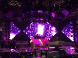 Pared de alta densidad del vídeo del fondo de etapa de la pantalla de visualización de LED de P1.923 Inoor LED