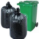 Saco de lixo plástico preto para o agregado familiar