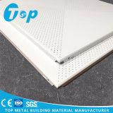 Алюминиевый потолок белые Perforated 60 * 60 Cm для украшения офиса