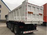 Sinotruk HOWO A7 6*4 덤프 트럭과 팁 주는 사람 트럭