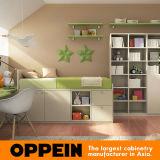 Meubles personnalisés respectueux de l'environnement de chambre à coucher de gosses de meubles d'enfants d'Oppein réglés (OP16-KID01)