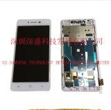 Painel do LCD das peças dos acessórios do telefone com a tela de toque para Oppo R7