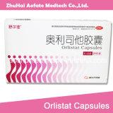 製品GMPの薬剤を細くするOrlistatのカプセルは重量の減量の脂肪質の焼却を減らす