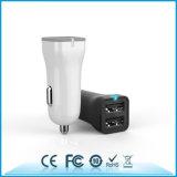 Заряжатель автомобиля 2.4A USB аттестации FCC RoHS Ce двойной Port