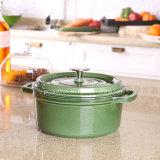 Fabricante do Cookware do ferro de molde do esmalte de China