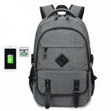 Double sac à dos d'ordinateur de mode de sac à dos du sac d'épaule USB