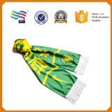 安い熱伝達の印刷13.5*150cmのフットボールのファンのスカーフ